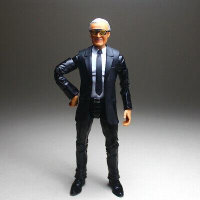 Marvel Legends Custom Excelsior Stan Lee Head Sculp Suited Body 6