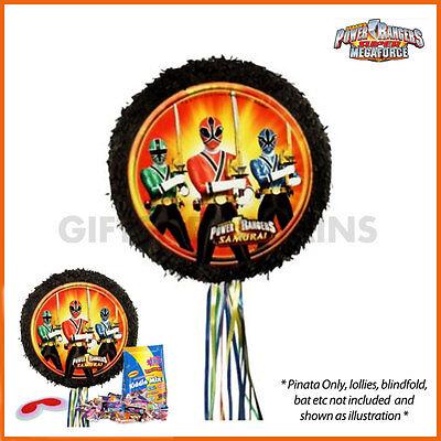 i Pinata Birthday Party Supplies Ninja Pull String Pinyata (Power Ranger Pinata)