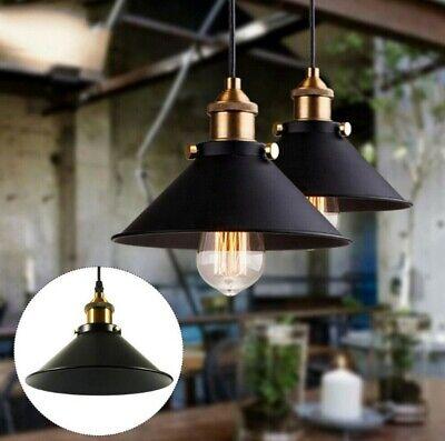 Retro Industrie Hängelampe Pendelleuchte Bar Lampenschirm Lampe E27 - Halloween Leuchten