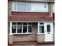 2 bed house Carnaby Ave strickly no pets or smoking one person must be working