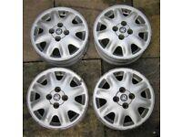 Set of alloy wheels for Vauxhall Corsa