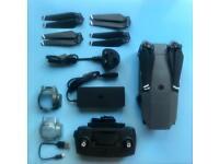 DJI Mavic Pro Drone with accessories and case