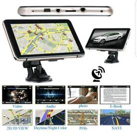 "7"" Sat nav and media player"