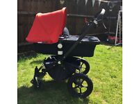 Bugaboo Cameleon Special Ltd Edition Denim (RED)