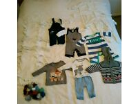 Baby Boy Clothes Bundle 0-3 & 3-6 months