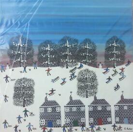 Original paintings by artist Gordon Barker