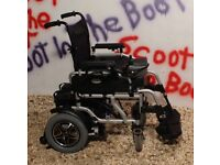 VAN OS TRAVELUX CORRADO Electric Wheelchair. **NEW BATTERIES** Near mint.