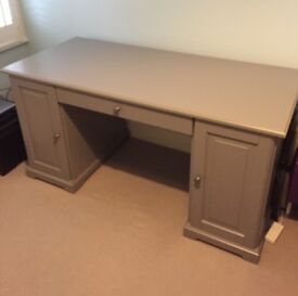 Desk LIATORP Grey (IKEA)