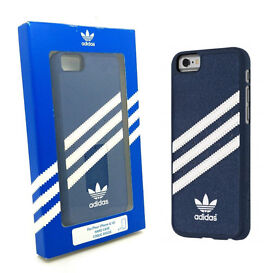 """Genuine Adidas Vintage Collection Moulded Case Cover For iPhone 6 & 6s 4.7"""" Blue"""