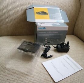 Maplin Component to HDMI Adapter N51QK YPbPr+R/L to HDMI Converter