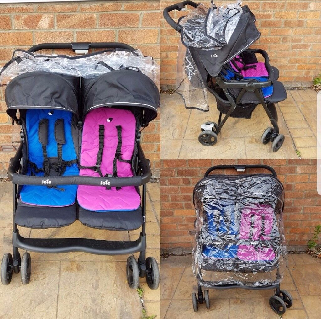 ***JOIE DOUBLE PUSHCHAIR***
