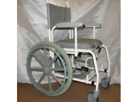 Details about Freeway T70 Shower Comode Wheelchair