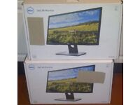 """Matching pair of Dell 24"""" monitors - brand new and boxed."""