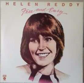 2 LPs - Helen Reddy ' Free and Easy' and The Best of Tammy Wynette