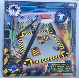 BBC Robot Wars Minibots Battle Arena with Dropzone