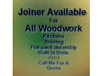 Joiner available for jobs
