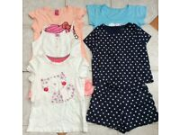 Bundle of girls clothes x6 items age 9-10 year old inc, M&S, M&Co and Mother Care