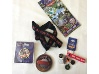 Alton Towers Theme Park Merchandise Air Ripsaw Medals Frame Bag Charms Keyring Rides Roller Coaster