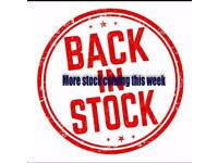 New stock this week when get into my work place shop