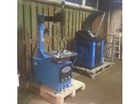 Wheel balancer and tyre changer. Never used.