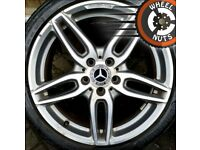 """18"""" Genuine AMG Mercedes A Class alloys with tyres"""