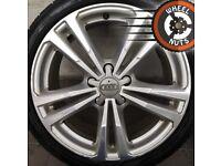 """18"""" Genuine Audi A3 S Line alloys Golf Caddy good cond good tyres."""