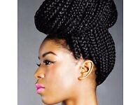 Mobile Afro hair braiding in Birmingham