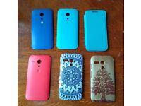 Set of phone covers/casings for Motorola Moto G