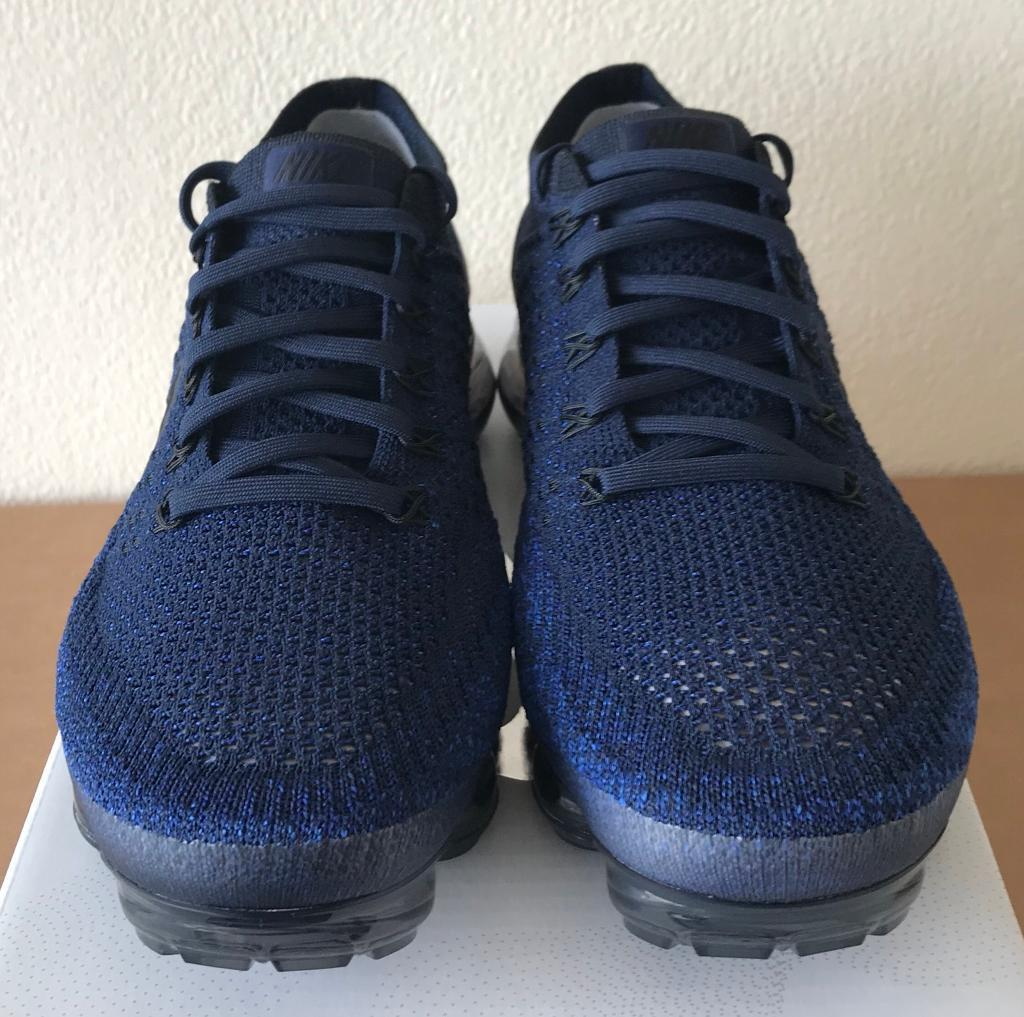 7fc7759563f0 Nike Air Vapormax Flyknit  Day to Night  Navy Blue Black UK 6.5 - 849558 400