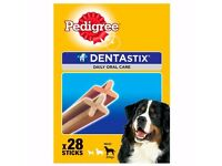 Pedigree DentaStix Lrg Dental Dog Chews x 112