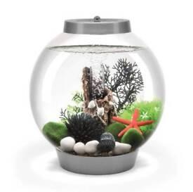 Baby Biorb Silver Fish Tank 15L