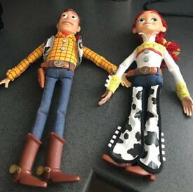 Toy story woody an Jessie