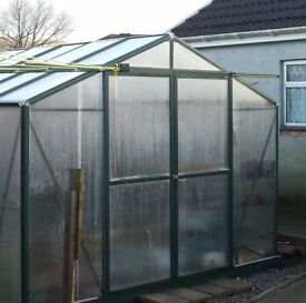 Polycarbonated Greenhouse 10'x8'