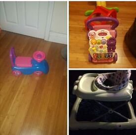 Baby walker .. Vtech first steps .. ride on toy