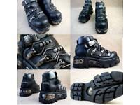 New Rock man Shoes 8