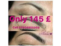 Special offer 50% off on Eyebrow Tattoo microblading