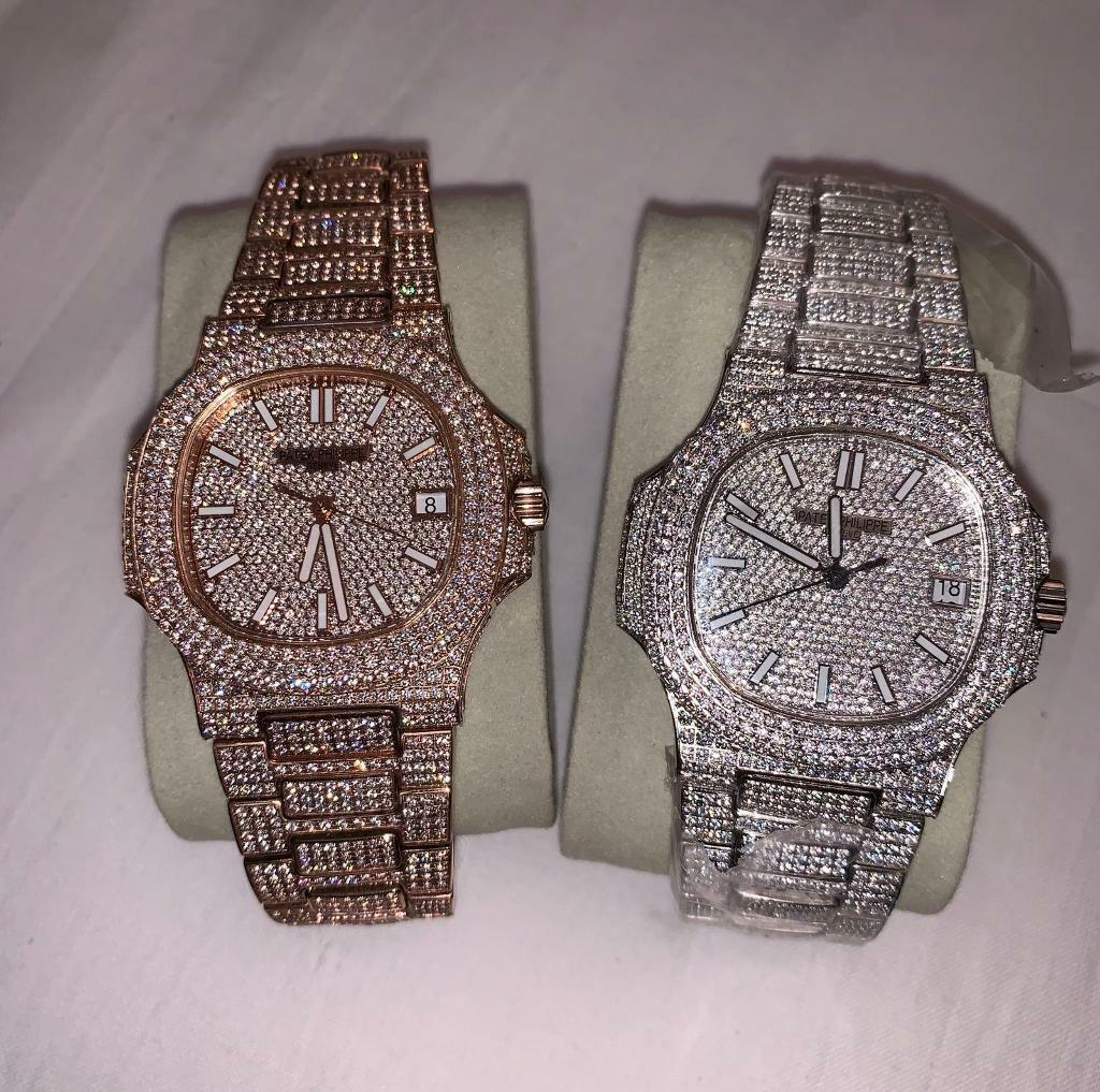 Silver Philippe Boxed In Iced Watch Rose Out Leicester Patek Automatic Gumtree Leicestershire amp; Swiss Gold