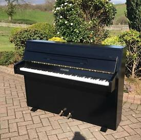 Zender black upright piano |free Delivery | Belfast pianos |