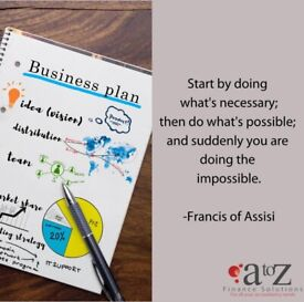 Do you need a Business Plan? Contact A to Z Finance Solutions Today