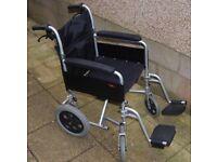 Wheelchair -Enigma Aluminium Transit Super Lightweight Wheelchair - Model: LAWC002