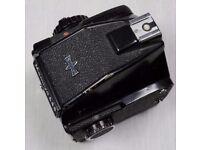 Vintage Mamiya 645 J Medium Format M645J SLR Camera With Eye Level Prism Finder
