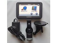 GARMIN nüvi® 40 GPS Sat Nav Latest UK & Ireland + WEST EUROPE FULL Map Speed Cam (no offers, please)