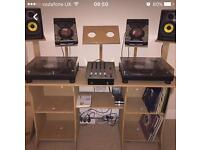 DJ stand ( Equipment not included)