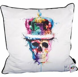 Search Back To Start Patrice Murciano God Save The Queen Cushion White