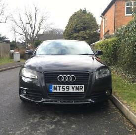 AUDI A3 S LINE 5DR LOW MILES 2010 2 OWNERS