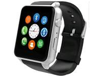 Brand new in box Bluetooth smart watch with side camera for android and iPhone brand new in box