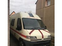 Citroen relay 2.5D - camper conversion - FOR SALE OR MAY SWAP