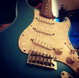 Fender strat MIM with Seymour Duncan everything axe set