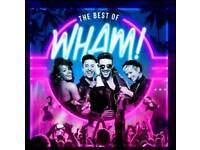 Best of Wham at Gravesend - two tickets