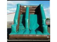 Bouncy castle mega slide (full setup blower, mat, pegs, and lead)